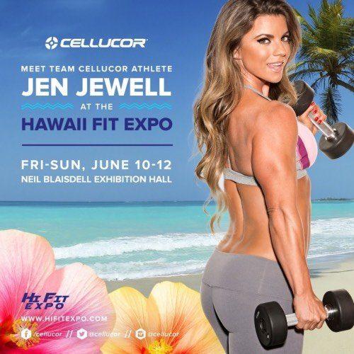 Jen Jewell at 2016 Hi Fit Expo
