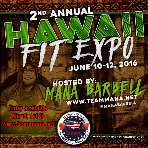 Mana Barbell Hi Fit Expo