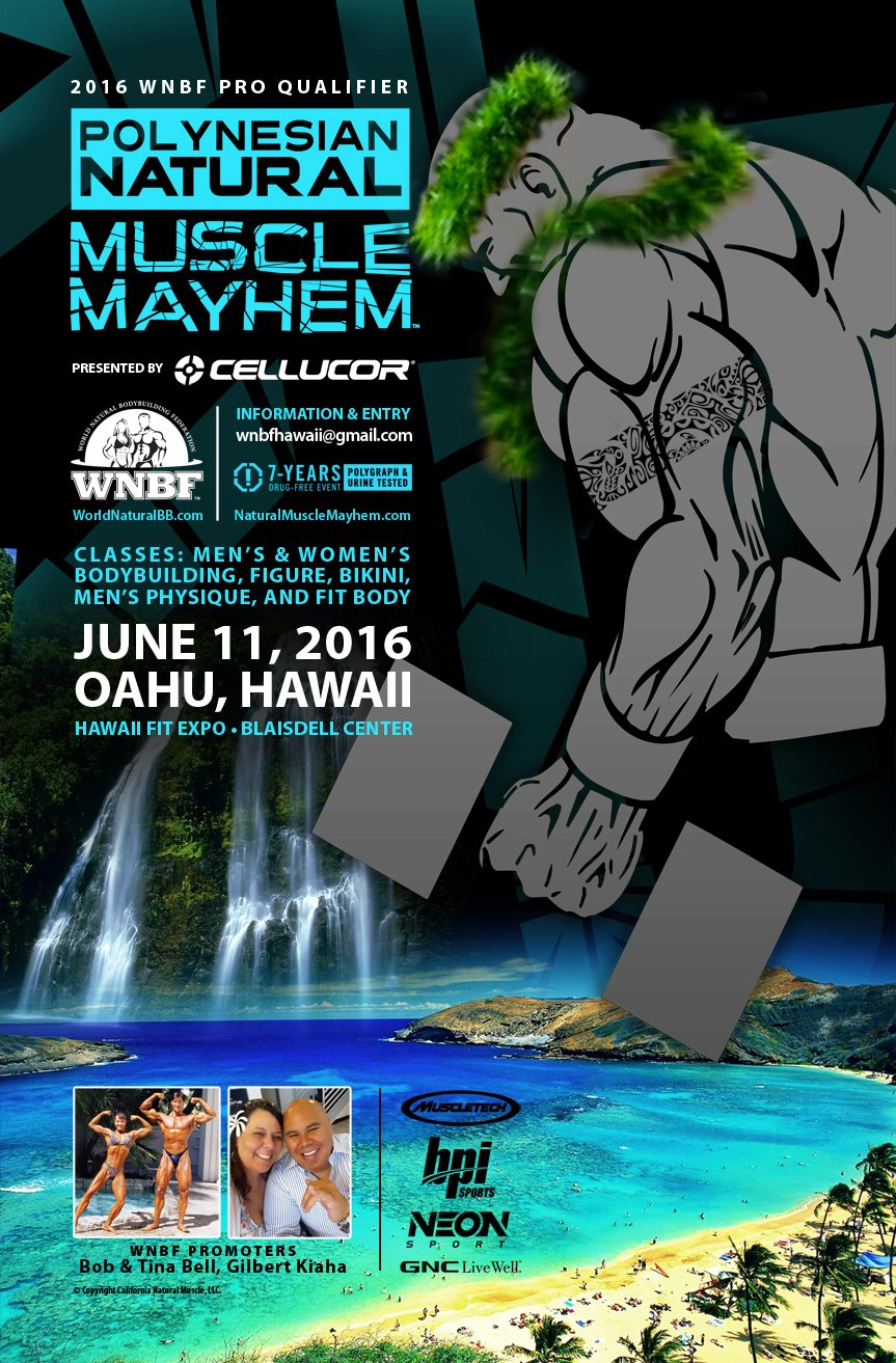 Polynesian Natural Muscle Mayhem