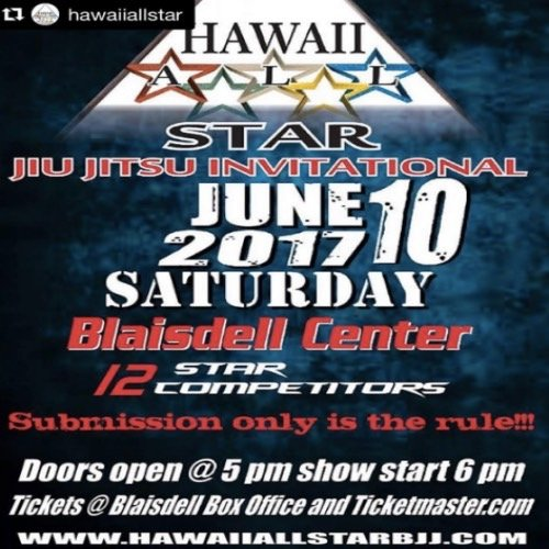 Hawaii all Star Jiu Jitsu Invitational
