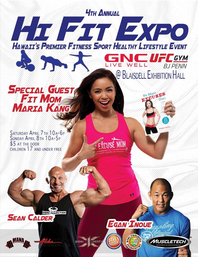 Hi fit expo 2019 poster