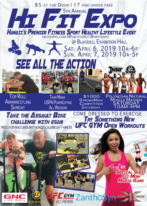 Hi Fit Expo Poster 2019