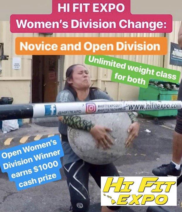 StrongMan Womens Challenge