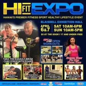 Hi Fit Expo April 6, 7, 2019