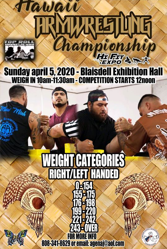 Hawaii-Arm-Wrestling-Championship-Hi-fit-Expo-2020